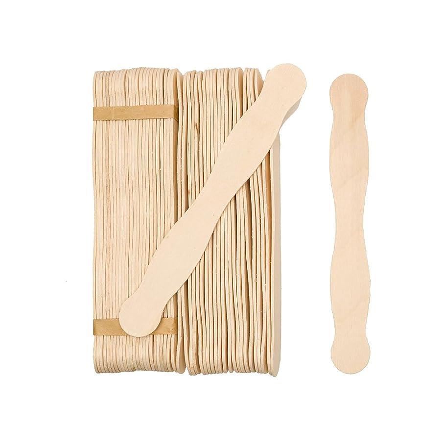 Natural Wavy Jumbo Wood Fan Handles Wedding Fan Craft Sticks by CraftpartsDirect - Bag of 1000