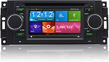 A-Sure Car DVD GPS Sat Nav stereo for Jeep Dodge Chrysler 300c BT RDS 3G SWC DAB+