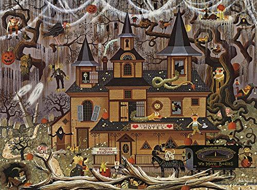Buffalo Games - Charles Wysocki - Trick Or Treat Hotel - 1000Piece Jigsaw Puzzle