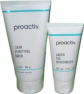 Proactiv Skin Purifying Mask 3 oz 85g & Green Tea Moisturizer 1 fl oz 30mL