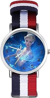 Frozen Girl Princess Dream - Reloj de ocio para adultos, moderno, bonito y personalizado de aleación de concha casual para...
