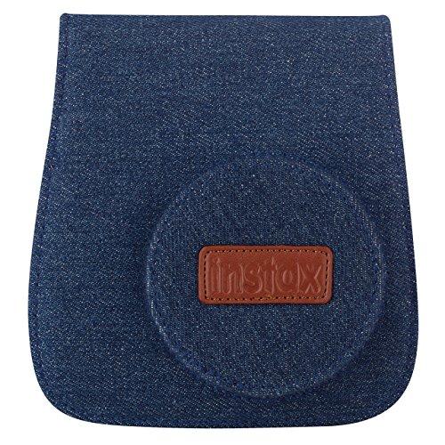 Fujifilm 70100118336 Custodia per Instax Mini 8, Jeans