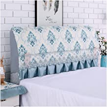 Bed Headboard Slipcover Protector Stretch Dustproof Cover for Twin Queen Full King Size Beds,Protector Bed Decoration Stre...