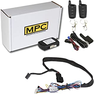 MPC Plug N Play Remote Start for 2007-2018 Jeep Wrangler Plugin T-Harness - (2) Extended Range 4-Button 2-Way Remotes - Up... photo