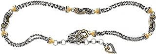 Brighton Bali Hai Chain Belt (SILVER-GOLD)