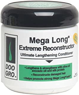 DOO GRO Mega Long Extreme Reconstructor Ultimate Lengthening Conditioner, 16 oz (Pack of 2)
