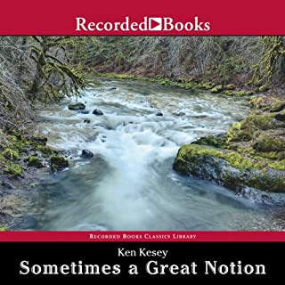 Sometimes a Great Notion audiobook cover art