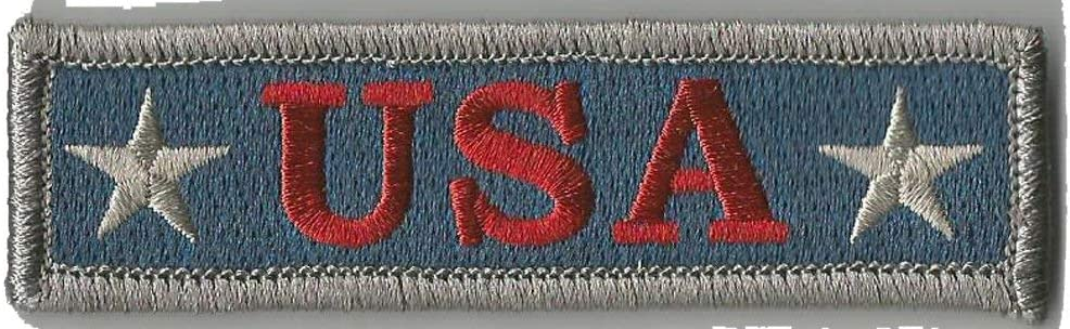 Industry No. 1 Max 82% OFF U.S.A. Tactical Morale Patch Silver Subdued -