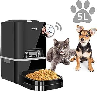 Iseebiz - Dispensador automático de Comida para Animales de ...