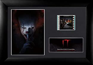 FilmCells Stephen King IT – Pennywise Desktop Presentation - with 35mm Film Clip