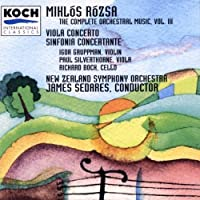 Rozsa: Sinfonia Concertante, Op.29/Concerto for Viola, Op.37 (The Complete Orchestral Music, Vol. 3) (1996-02-20)