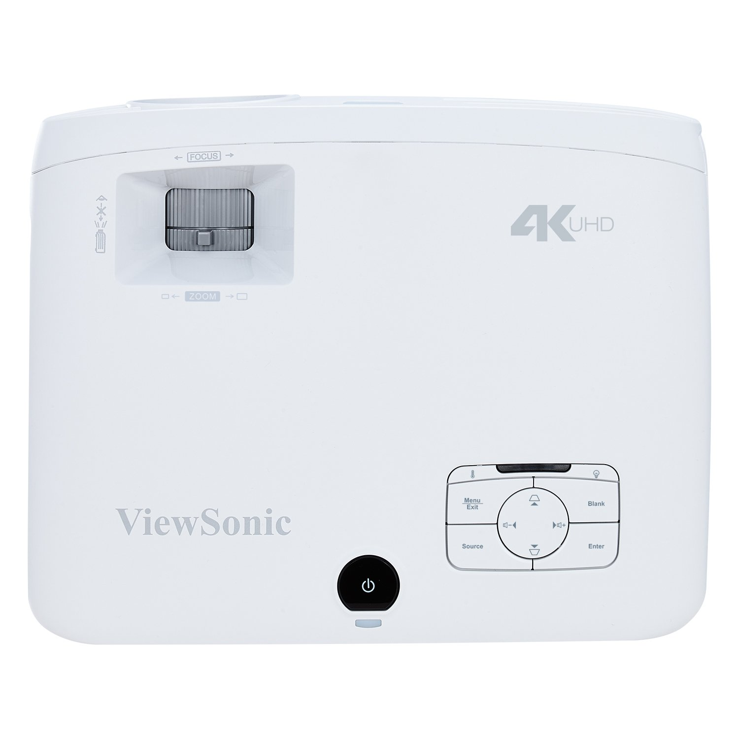 ViewSonic True 4K Projector with 3500 Lumens HDR Support and Dual HDMI