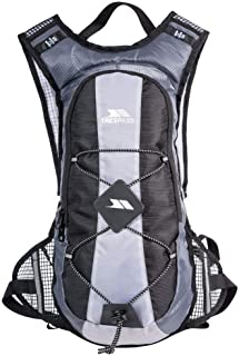 Trespass Mirror Hydration Backpack/Rucksack (15 Litres) With Water Resevoir (2 Litres) (UK Size: One Size) (Silver)