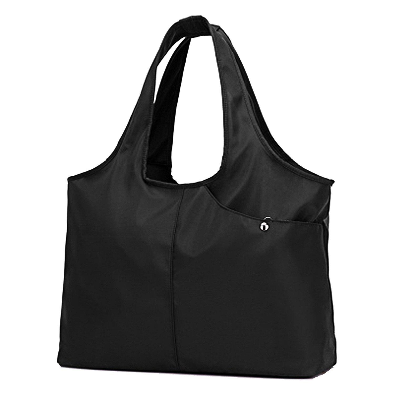 防水 ナイロン マザーズバッグ a4サイズ ブラック