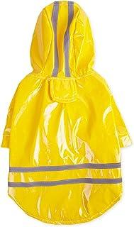 Orange Grand 57CM Longueur doubl/ées en polaire v/êtements plus chauds pour Extra Large Chiens Manteau de pluie l/ég/ère avec Protector Belly XXXL Imperm/éable Manteau pour chien Veste