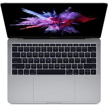 "Apple 13.3"" MacBook Pro (Mid 2017), 227ppi Retina Display, Intel Core i5 2.3GHz, 128GB PCIe SSD, 8GB DDR3, 802.11ac, Bluetooth, macOS Sierra, Space Gray (Renewed)"