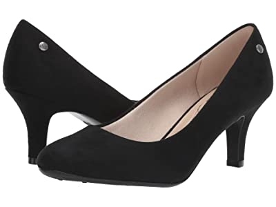 LifeStride Parigi (Black Microsuede) High Heels