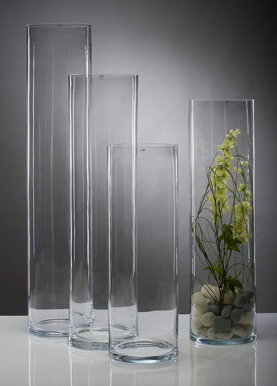Glasvase Vase Glas Blaumenvase Blaumenvase Blaumenvase Bodenvase Zylinder groß 120 cm B00604ZBWM 1fd2f1