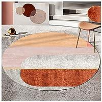 デスクチェアマット、滑り止め遮音-床の色を保護できます-オフィスデスクチェアクッションに適しています-サイズ:80-200Cm直径(7サイズ)(Size:100cm,Color:A)