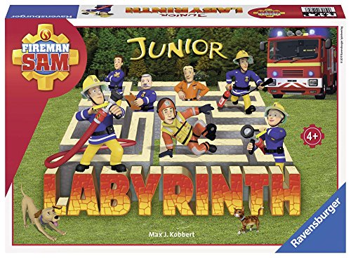 Ravensburger 212828 Labyrinth Junior Brandweerman Sam, 48+ mnd