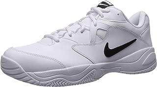 Men's Nike Court Lite 2 Shoe, white/black - white, 6 Regular US