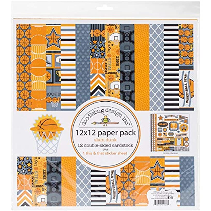 DOODLEBUG 4888 Double-Sided Paper (12 Pack), 12