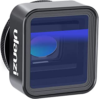 ULANZI 1.33X Anamorphic Lens Filmmaking Phone Camera Lens,Mobile Phone Widescreen Movie Lens by Filmic Pro App for iPhone ...