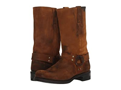 Frye Harness 12R (Wheat Oiled Suede) Cowboy Boots