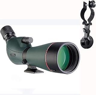 SVBONY SV406 Spotting Scope HD Dual Focus Zoom 20-60x80 Long Range Scope for Range Bird Watching Hiking with Case Phone Ad...