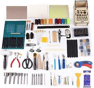 Kit de Gravure sur Cuir Trousse à Outils en Cuir Bricolage