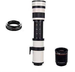 JINTU 420-1600mm f/8.3 HDマニュアル望遠レンズソニーNEX Eマウントa7r a7s a7 a6500 a6300 a6000 a5100 a5000 a3000 NEX-7 NEX-6 NEX-5T NEX-5N NE...