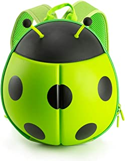 Ladybug Backpack for Toddlers, and Children - Perfect for Daycare, Preschool, Kindergarten, and Elementary School