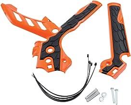 Acerbis X-Grip Frame Guards Orange/Black - Fits: KTM 250 SX 2013-2016