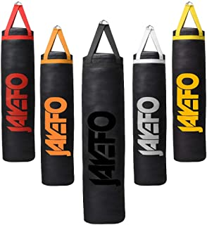 Jayefo Trexter Heavy Punching Bag 6 FT 10 Year Warranty Muay Thai Heavy Bag Boxing MMA Fitness Workout Training Kick Boxing Punching Banana Bag - Unfilled