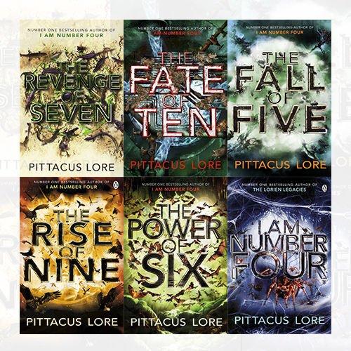 i am number four books set - 7