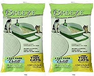 Tidy Cats Breeze Cat Pads 4 / Pack 2 Pacls