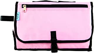 Baby Steps - The Best Portable Diaper Change Pad & Compact Diapers Bag -Travel Pronto Changing Station Mat – Pink - Perfect Baby Shower Gift or Present For Mom of Newborn Boys or Girls