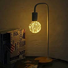 Uonlytech Geleide peerlamp bal geleide feeënachtige lamp led Edison lamp voor feesthuis (2 stuks geel)