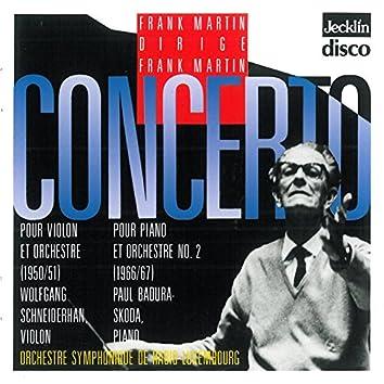 Frank Martin dirige Frank Martin: Concerto pour violon & Concerto pour piano No. 2
