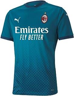 PUMA AC Milan Stagione 20/21-3a Maglia Versione Replica jr Unisex Bambini