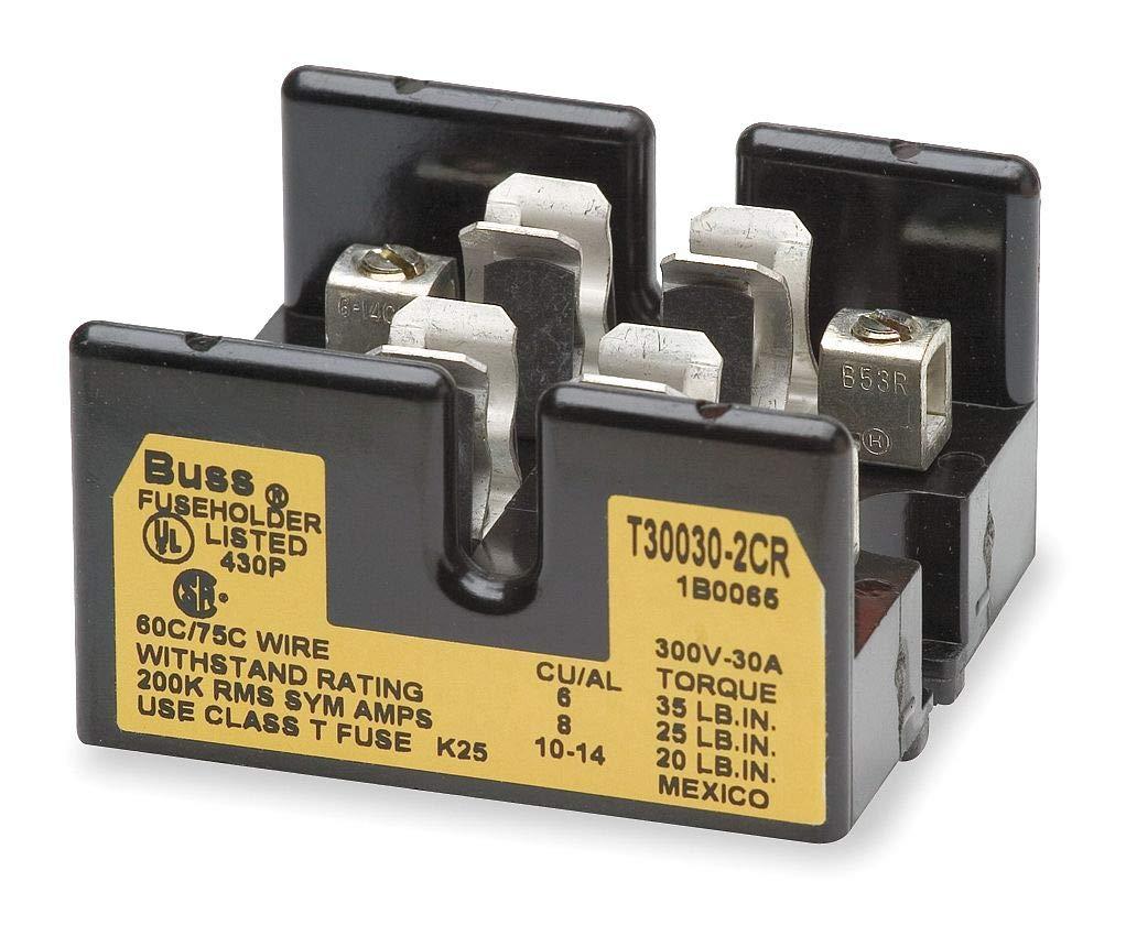 Cooper Bussmann T30030-2CR Buss 1B0065 Fuse Super-cheap Max 56% OFF Block