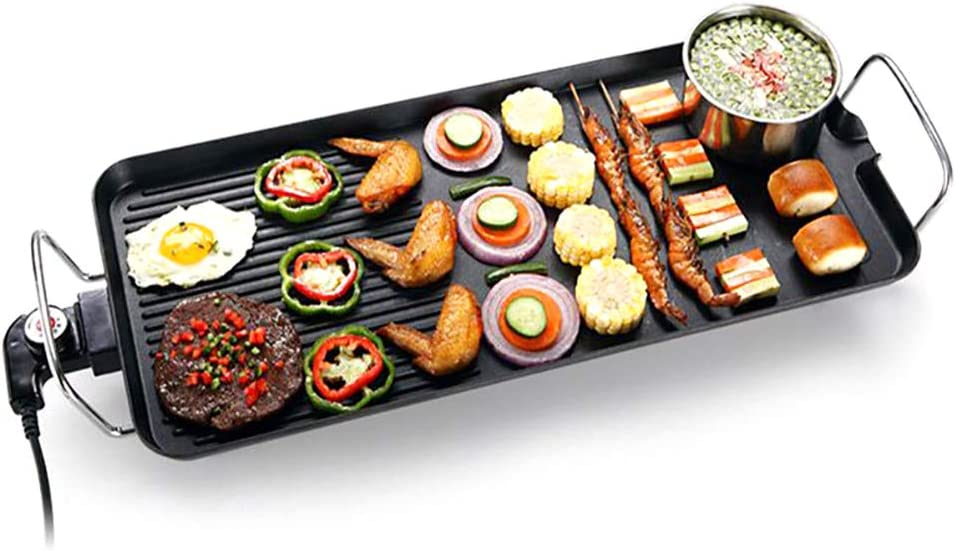 Electric Table Top Griddle. Korean Indoor Nonstick Style sold out Milwaukee Mall Grill.