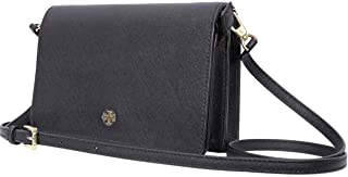 Tory Burch 49126 Emerson Combo Saffiano Wallet Royal Navy Cross Body