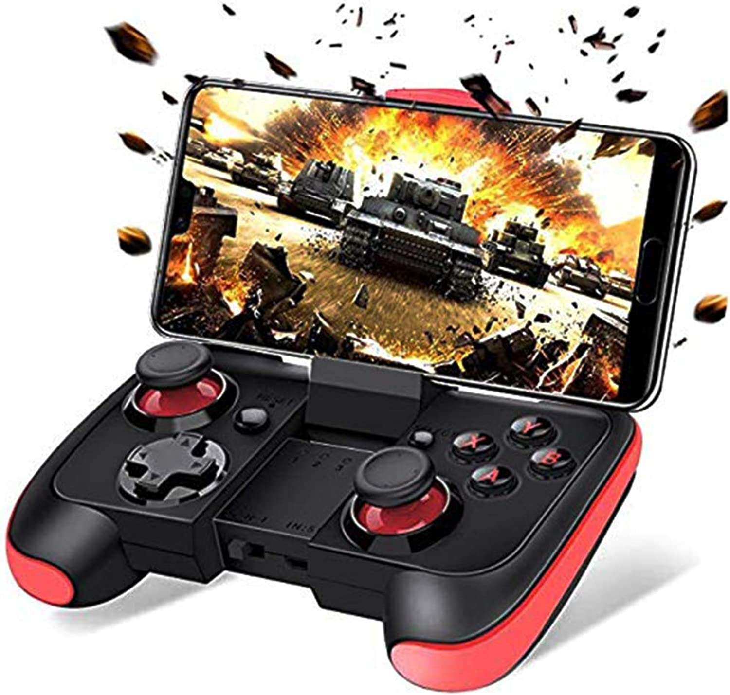 ZQYR GAME  Android Controller Ultra Thin blueetooth Gamepad Joystick Gaming android Phone Tablet TV Box VR Devices Emulator, QLL2