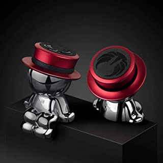 Magnetic Car Phone Holder AUSELECT Dashboard Phone Mount Little Man A Style Red Hat