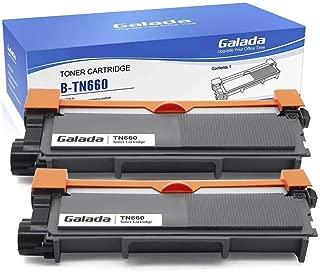 Galada Compatible Toner Cartridge Replacement for Brother Tn630 Tn660 for Hl-l2300d Hl-l2340dw Hl-l2305dw Hl-l2320d Hl-l2360dw Hl-l2380dw Dcp-l2520dw Dcp-l2540dw Mfc-l2700dw Mfc-l2720dw Mfc-l2740dw 2p