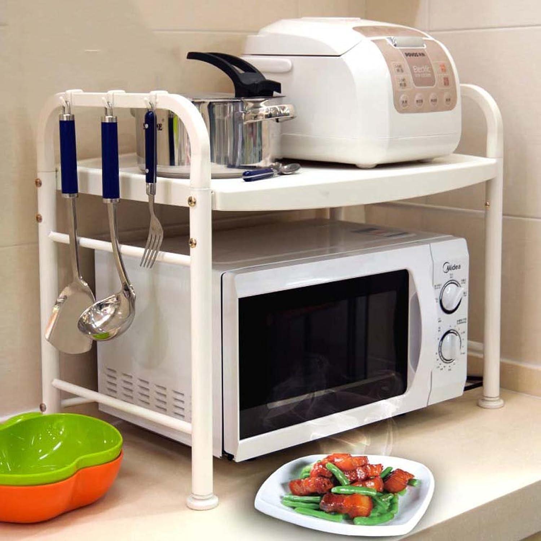CivilWeaEU- Küche Microwelle Regal 2 Storey Ofen Double Storage Küche Zubehr -Regal