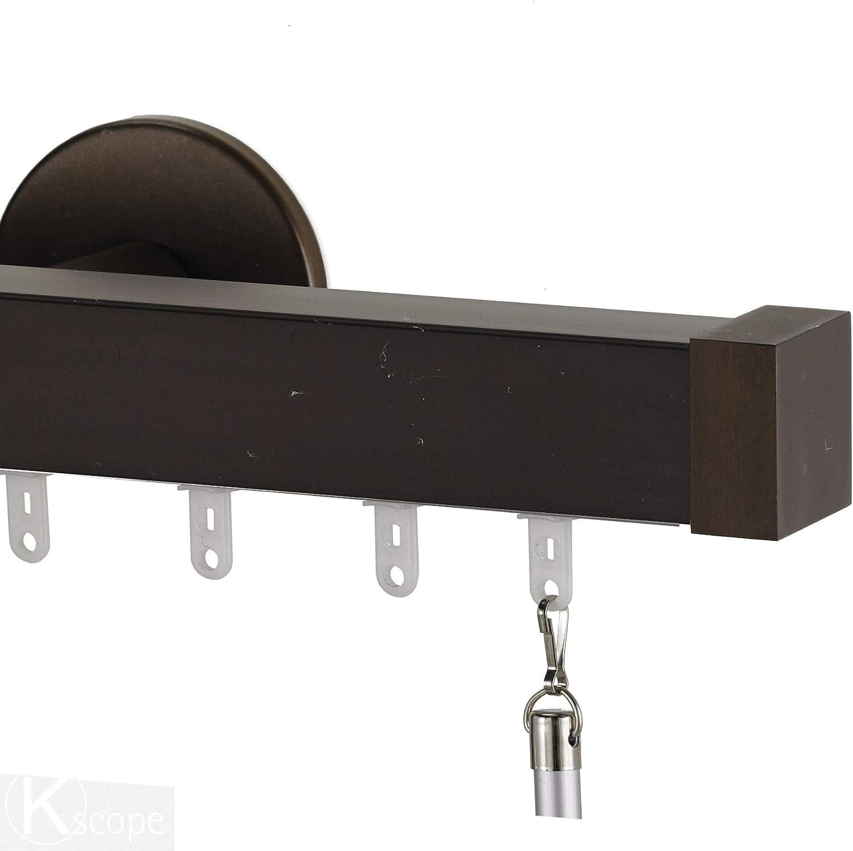 Infinette Nexgen Opening large release sale Single Traverse Window Curtain Regular dealer End Rod with Set