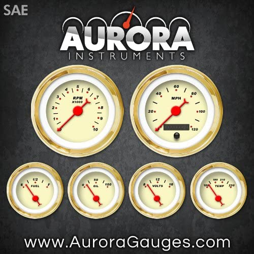 Aurora Limited time cheap sale Instruments 1031 At the price of surprise Modern Rodder Tan Red SAE 6-Gauge C Set