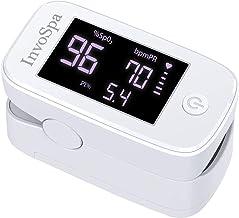 Pulse Oximeter Fingertip - Saturation Oxygen Monitor Fingertip (SpO2) for Adults - Finger Pulse Oximeter for Heart Rate Me...